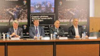 Spanish football joins forces against piracy