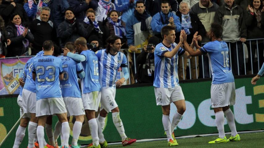 La efectividad premia al Málaga