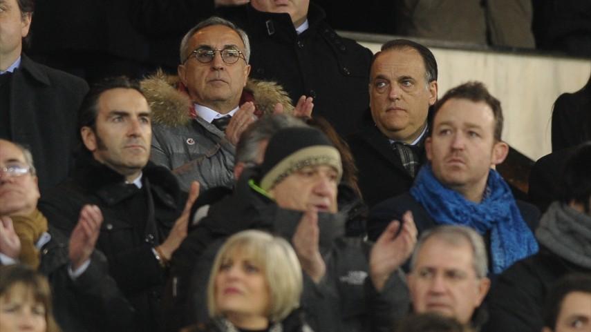 La LFP, presente en el homenaje a Luis Aragonés