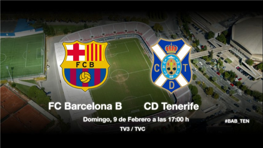 Barcelona B y Tenerife buscan la regularidad