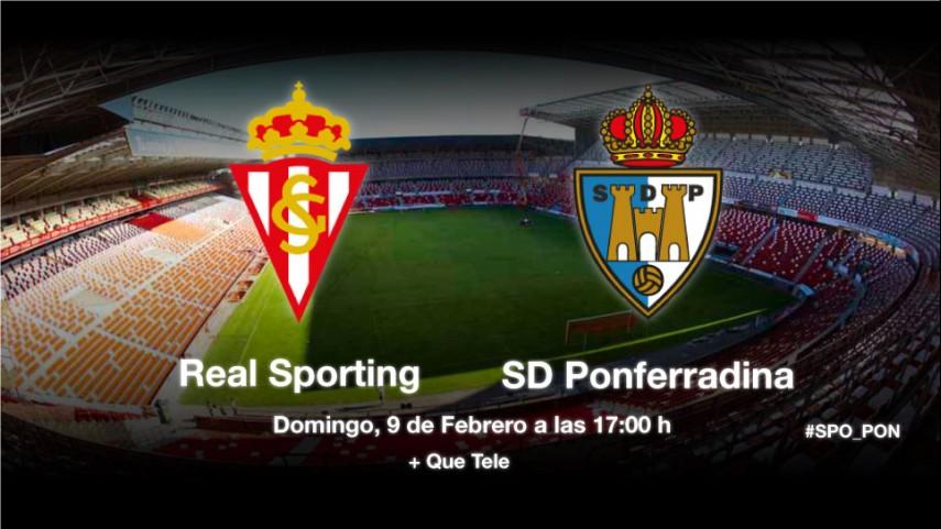 El Sporting se examina ante la Ponferradina