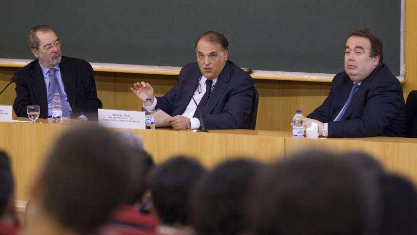 La LFP en el Seminario de derecho deportivo de la UAM