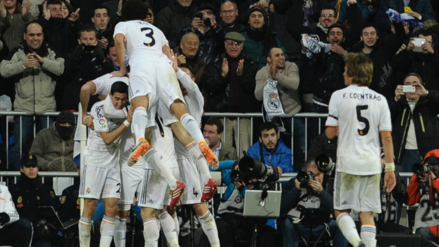 Paso de gigante para el Real Madrid en Copa