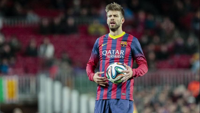 Piqué, lesionado en el Barcelona