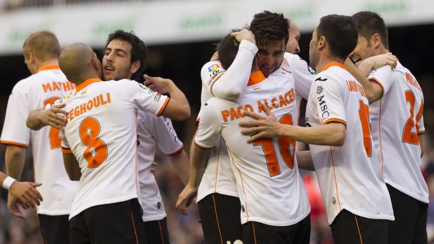 El Valencia resuelve por la vía rápida