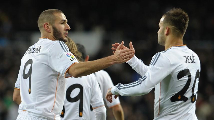 El Madrid empata en la cima de la tabla