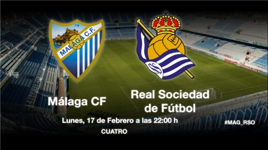 La Real examina a un mejorado Málaga