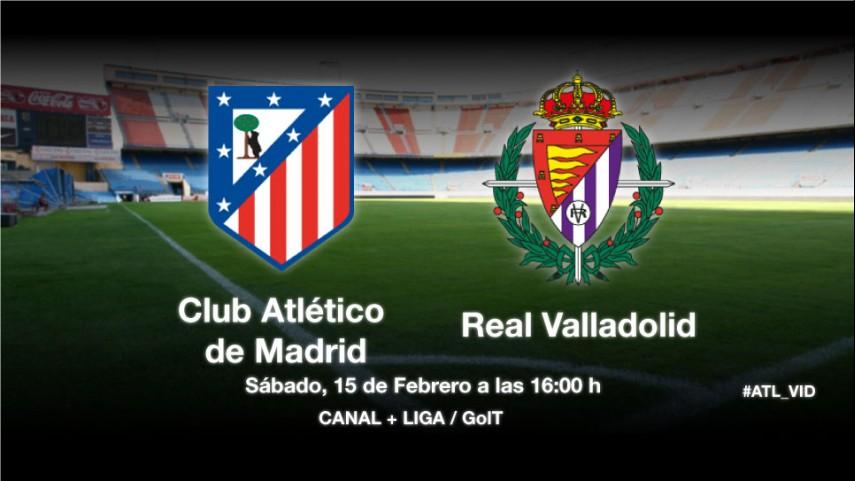 El Valladolid pondrá a prueba al Atlético