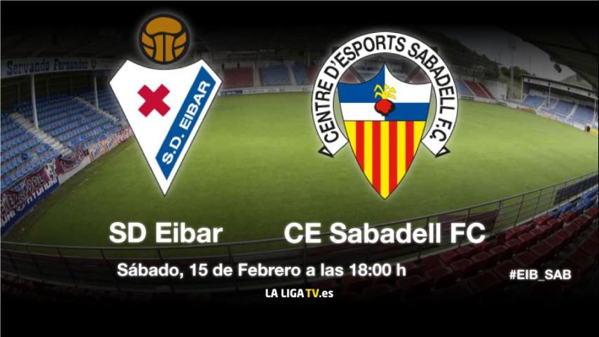 El Eibar defiende liderato ante el Sabadell