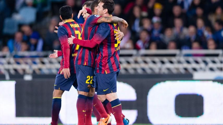 El Barcelona estará en la finalde Copa
