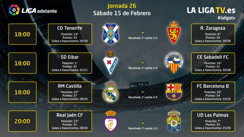 La emoción será protagonista el sábado en La Liga TV