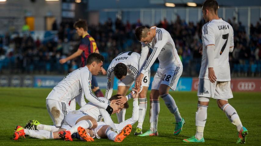 El Castilla se lleva el mini Clásico