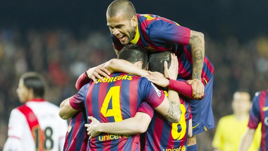 Atlético y Barcelona siguen en la lucha