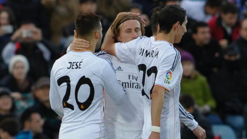 El Real Madrid no perdona en Getafe
