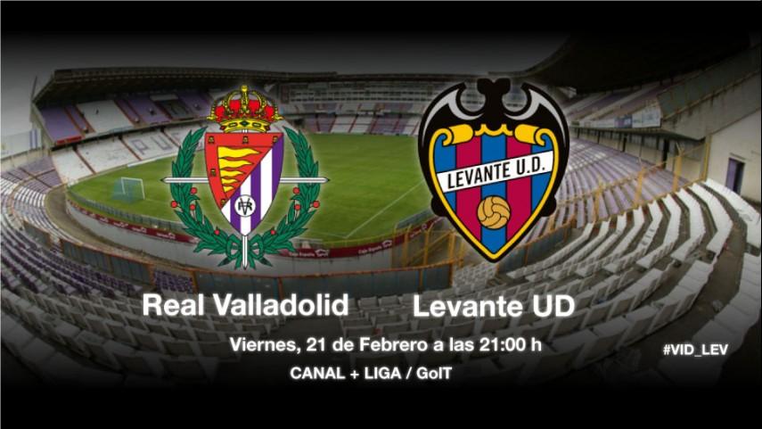 El Valladolid, ante la solidez del Levante