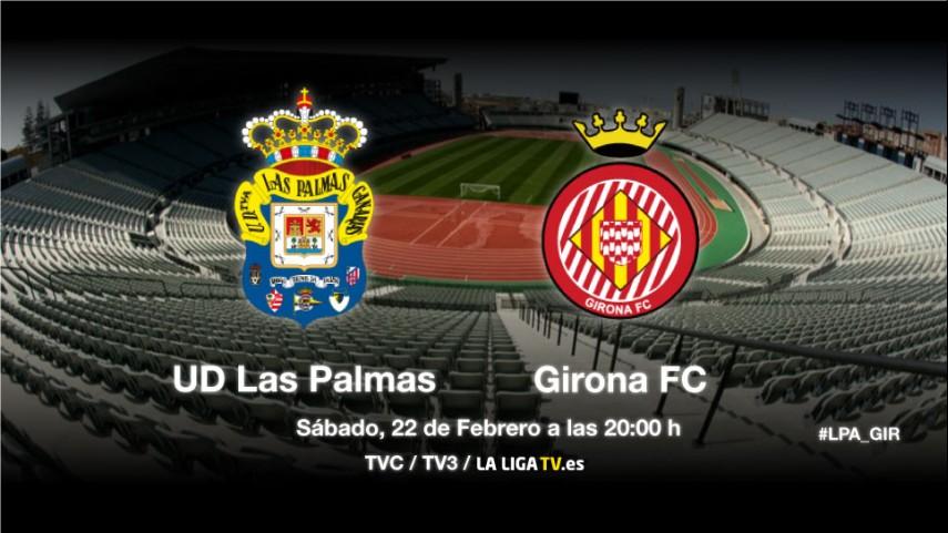Examen de Las Palmas frente al Girona