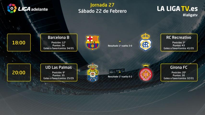La Liga TV te ofrece lo mejor del sábado
