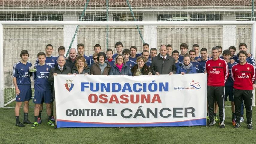 Fundación Osasuna apoya la lucha contra el cáncer