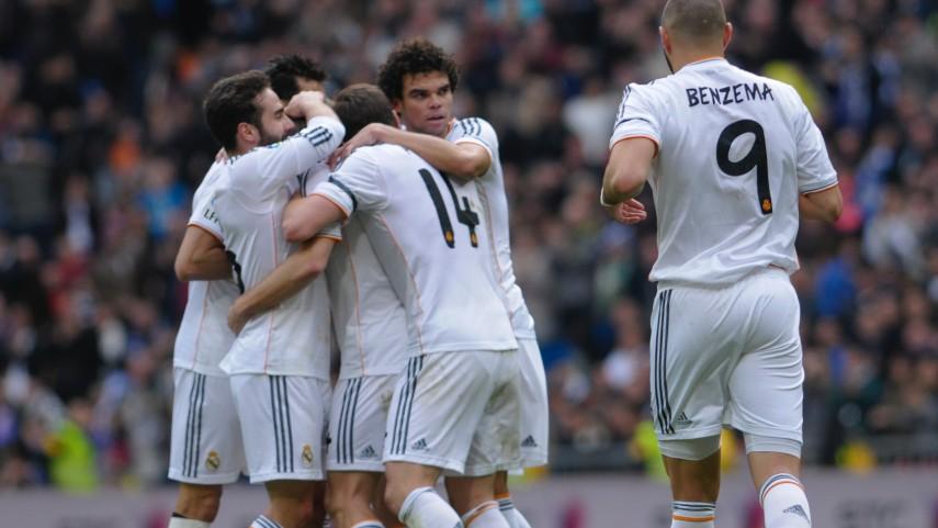 El Real Madrid mantiene el vuelo