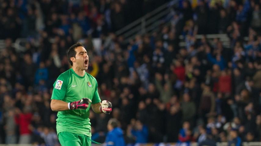 Claudio Bravo, nuevo portero del Barcelona