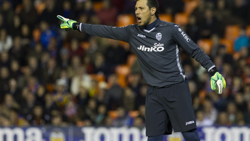 Diego Alves, valencianista hasta 2019
