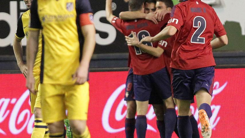 Osasuna amarga al Atlético