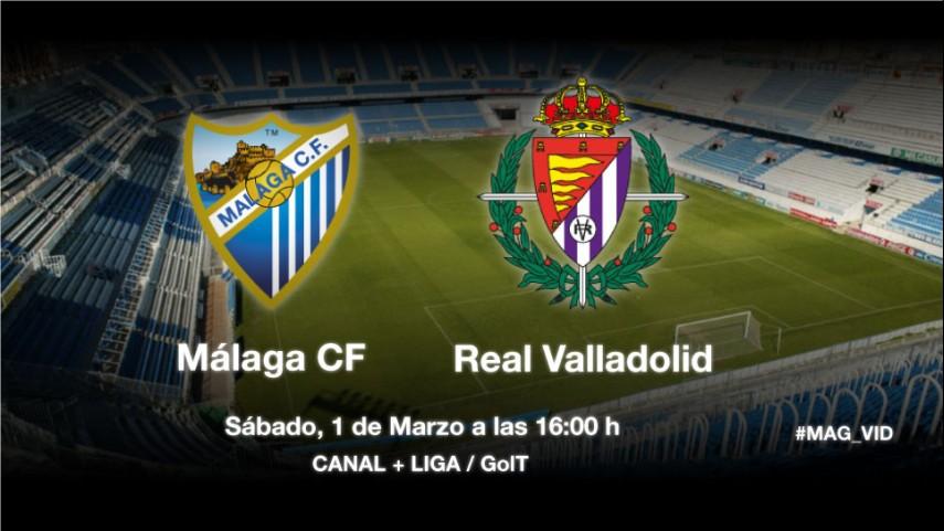 Málaga y Valladolid, con vistas a la salvación