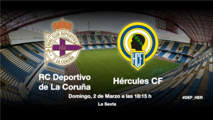 El Deportivo recibe a un Hércules en racha