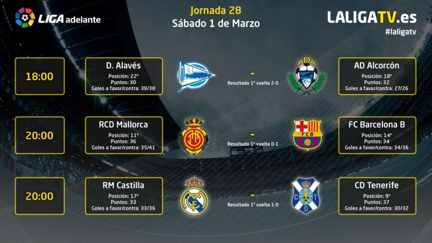 Sábado de emociones en La Liga TV