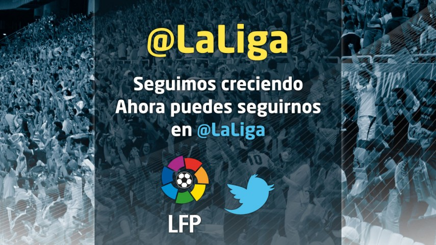 La LFP sigue creciendo en Twitter
