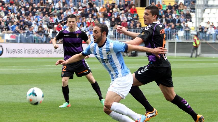 Málaga y Valladolid no rompen la igualdad