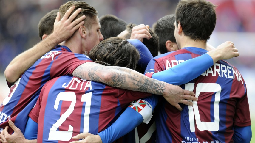 El Eibar firma su sexta jornada como líder