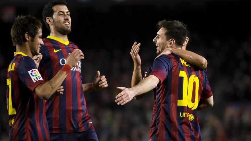 El Barcelona, a certificar su ventaja