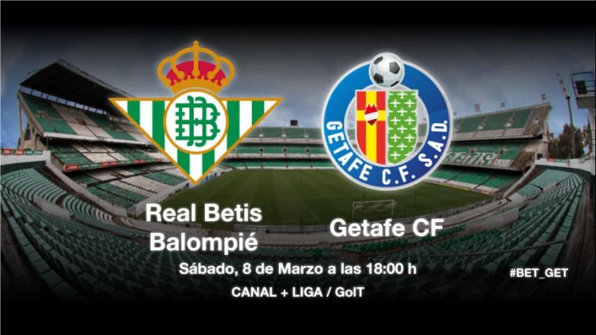 El Getafe mide la necesidad del Betis