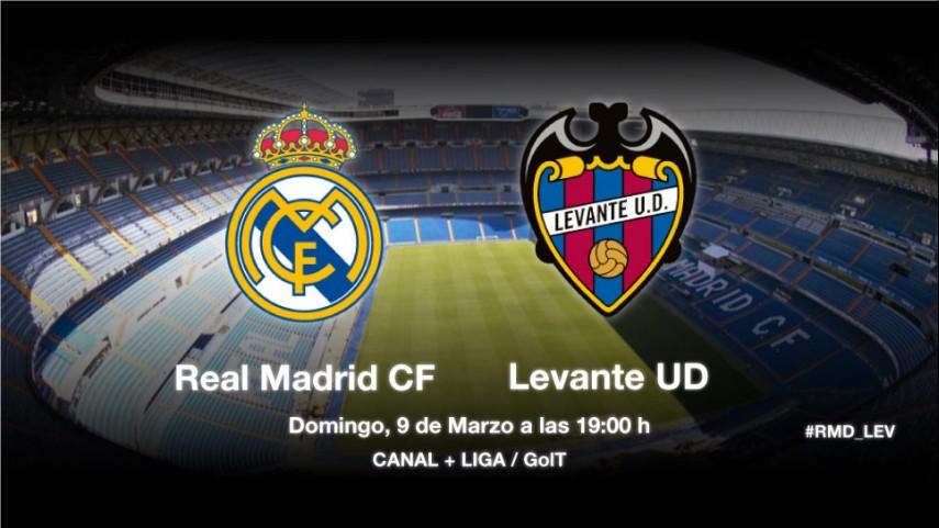 El Real Madrid defiende liderato ante el Levante