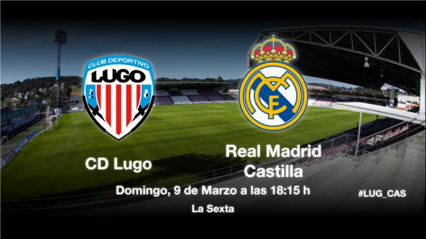 El Lugo mide la buena racha del Castilla