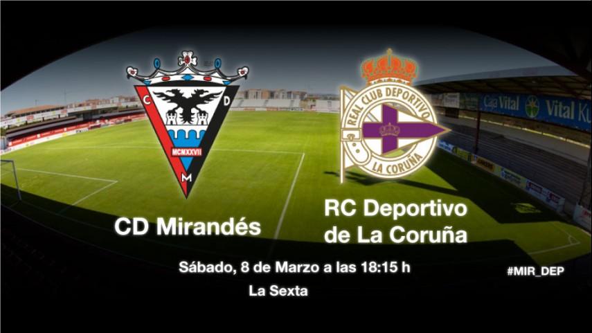 El Mirandés reta al Deportivo