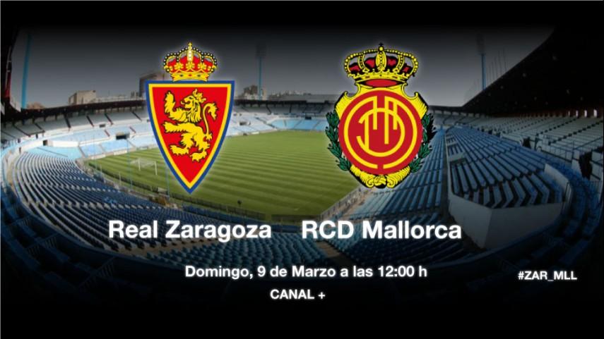 Zaragoza y Mallorca buscan la reacción