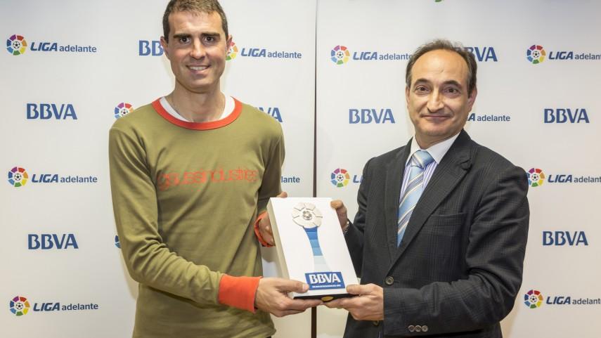 Garitano, mejor entrenador de la Liga Adelante de febrero