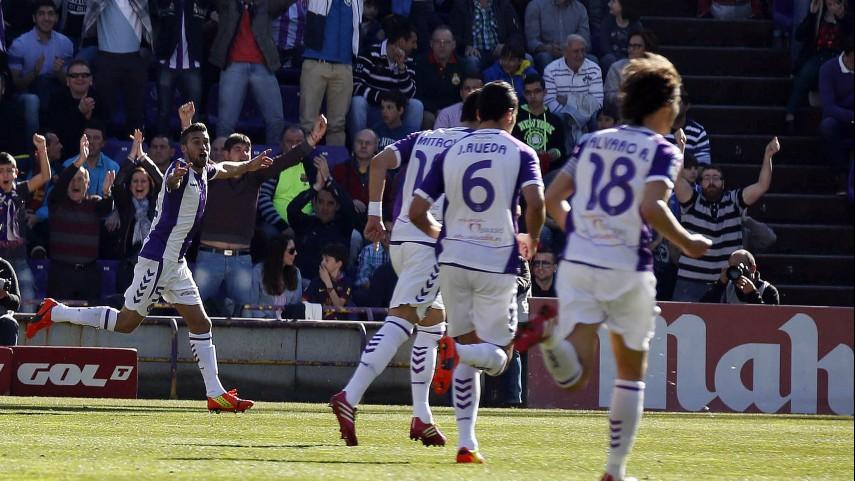 El Valladolid desarma al Barcelona