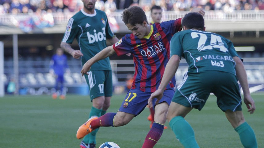 El Barcelona B se salva in extremis