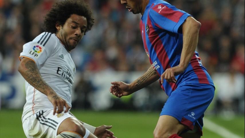 Marcelo, lesionado en el Real Madrid