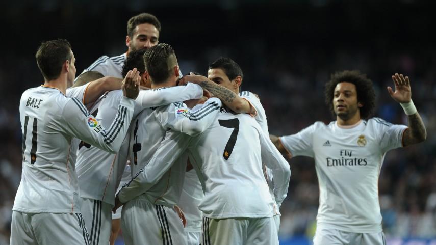 El Madrid corta la racha del Levante