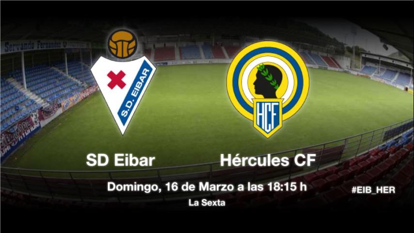 El Eibar se juega el liderato ante el Hércules
