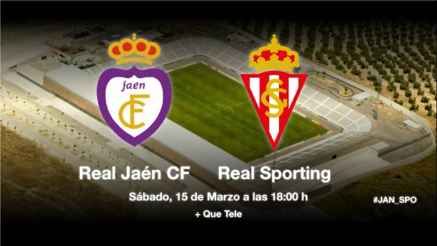 Jaén y Sporting quieren los tres puntos