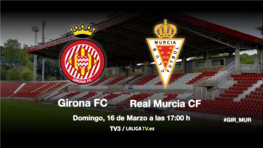 El Girona de Machín afronta su primera prueba