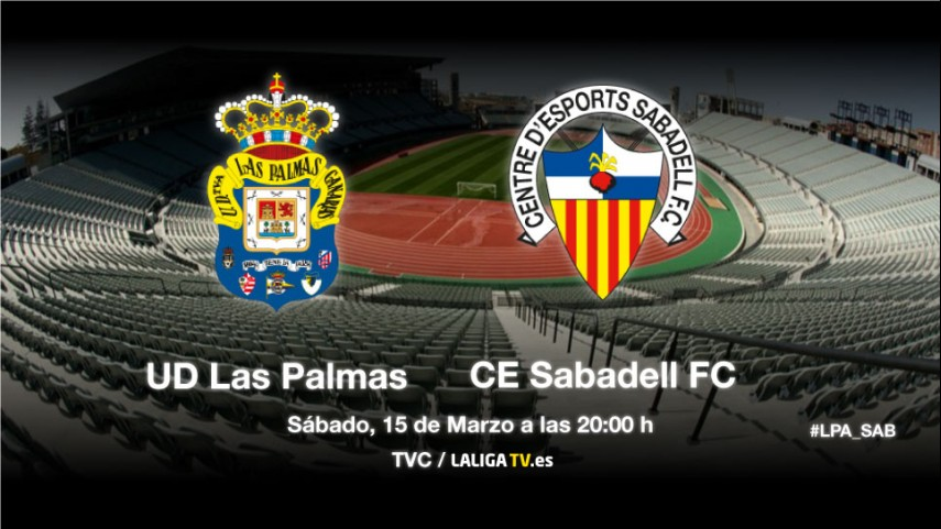 Las Palmas y Sabadell miden su crecimiento
