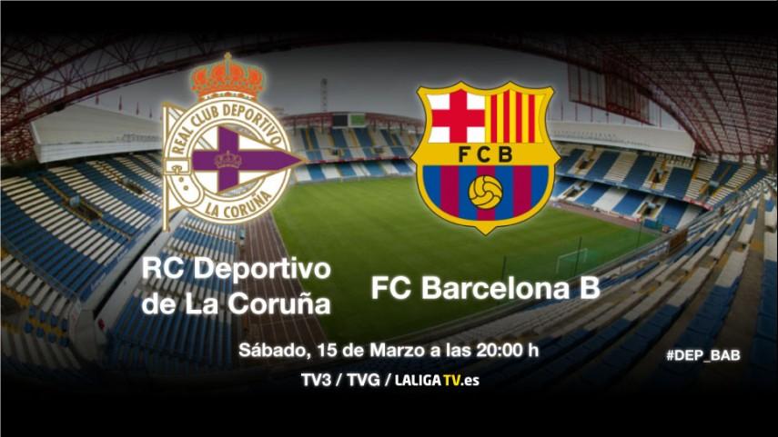 El Deportivo tiene la primera final ante el Barça B