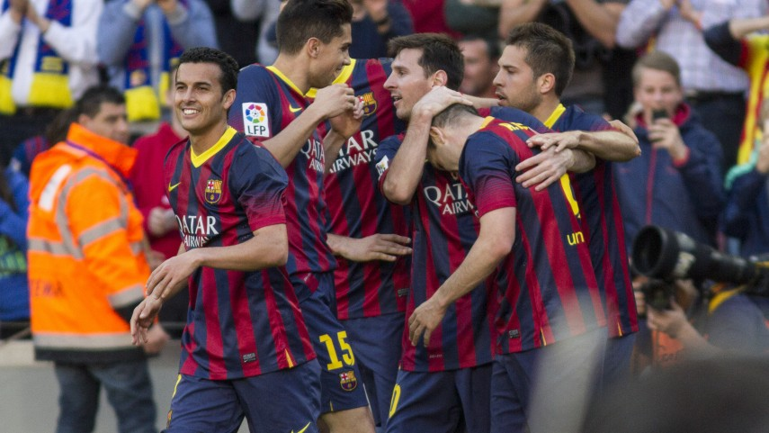Barcelona y Sevilla ponen los goles en la Liga BBVA