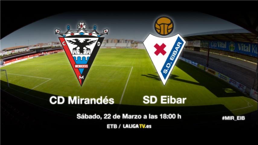 El Eibar defiende liderato en Anduva